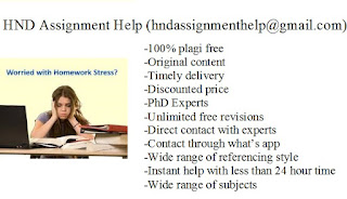 HND Assignment Help