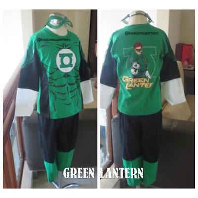 Jual Kostum Anak Green Latern Murah