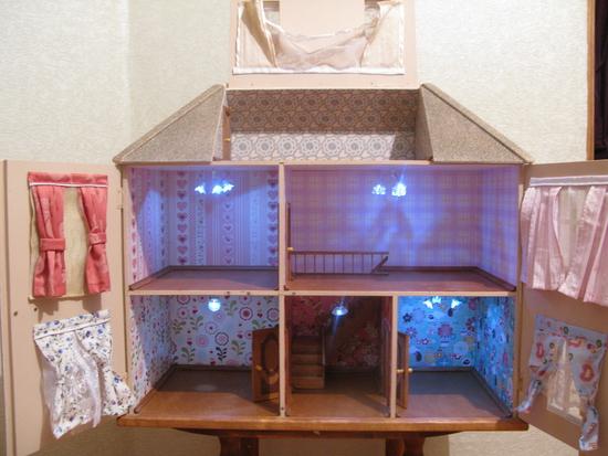 домик куклам своими руками просто