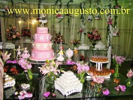Detalhe mesa de bolo