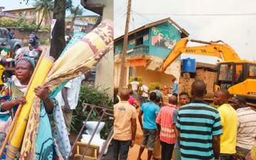 Ojodu-Alagbole-Akute Road: Ogun Demolish Over 100 Buildings