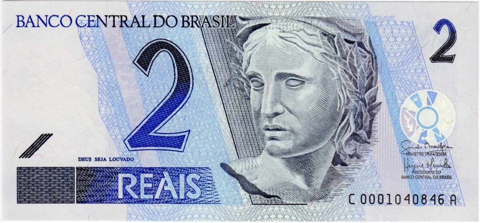 Brazil 2 Reais banknote 2010|World Banknotes & Coins ...