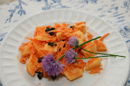 Carrot and Apple salad with currants