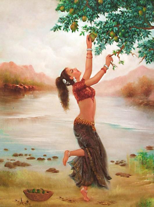 Jayakumar vrindavanam: paintings 1