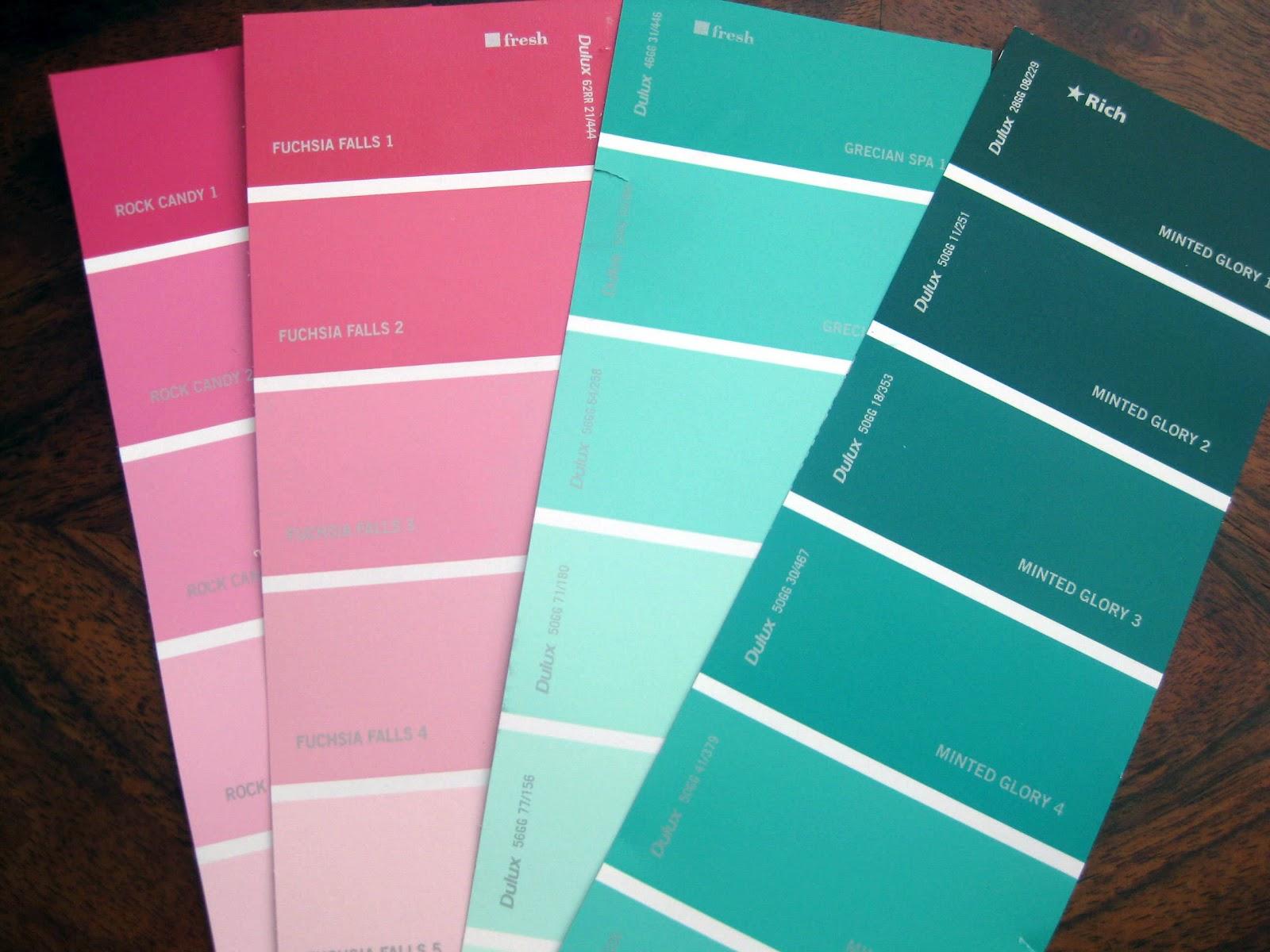 Dulux Paint Colours