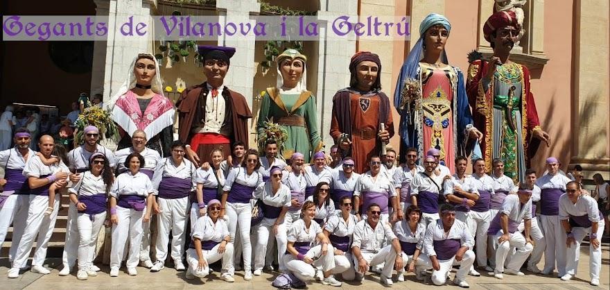 Gegants de Vilanova i la Geltrú