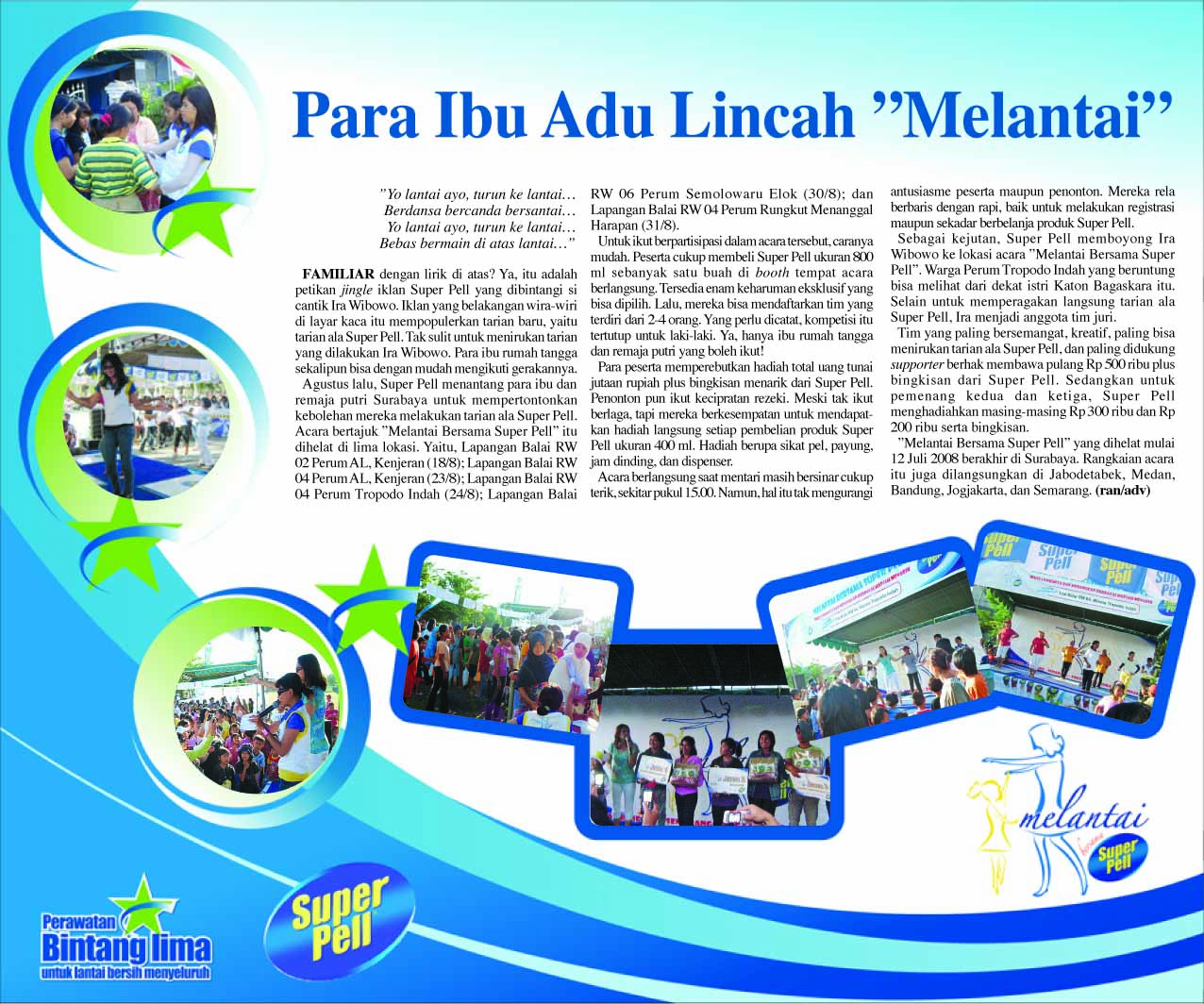Contoh Iklan Creative Advertorial Display