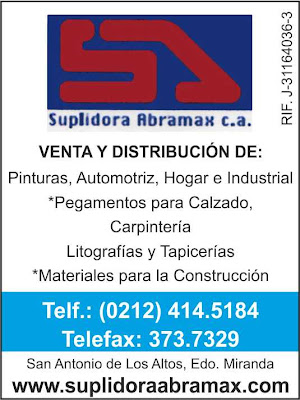 SUPLIDORA ABRAMAX, C.A. en Paginas Amarillas tu guia Comercial