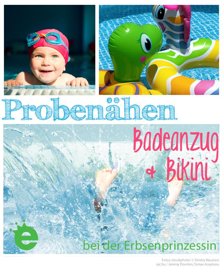 Sommer-Probenähen: Badeanzug und Bikini - Erbsenprinzessin Blog