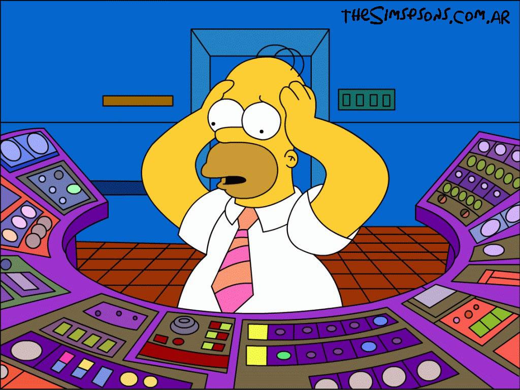 Homer Simpson Nuclear Power