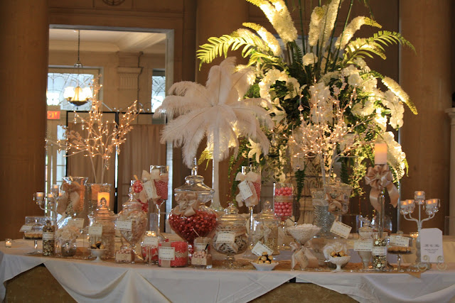 Saratoga Hall of Springs Oh...My Posh Candy Buffet Bar - Splendid Stems Event Florals