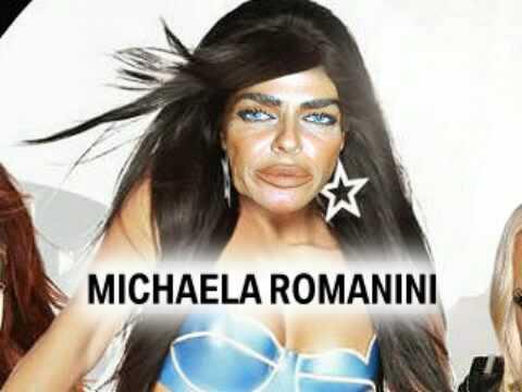 Michaela Romanini Plastic Surgery Poster