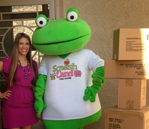 Sqwishland Squishy Giant Frog SquishiesRule.com