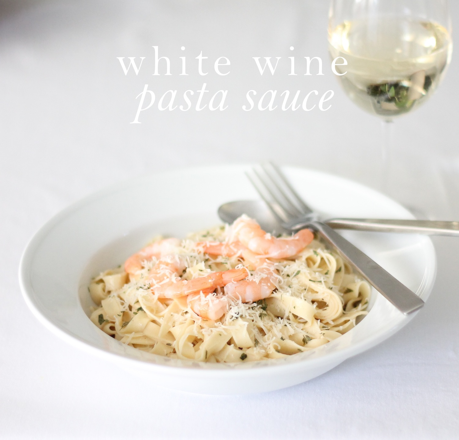 how to make easy white sauce pasta at home