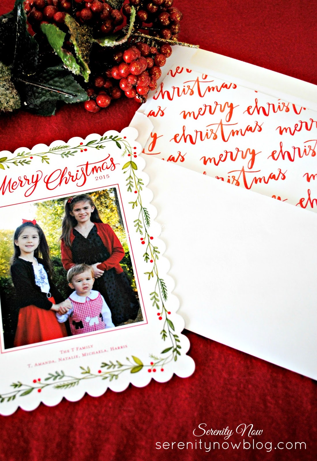 Serenity Now: Family Christmas Card Ideas, 2015 #Shutterfly