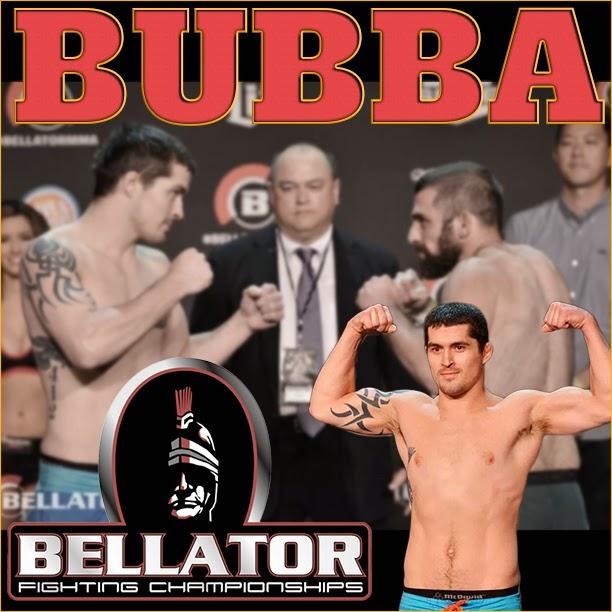 Professional MMA fighter Bubba Pugh