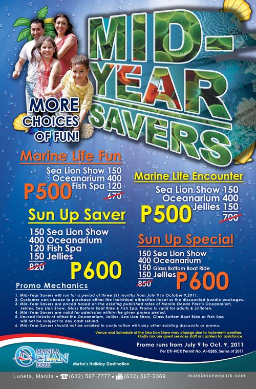 Ocean Park Manila Promo