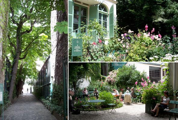 Petite paris musee de la vie romantique - Jardin du musee de la vie romantique ...