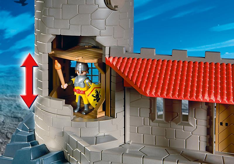 Dioramas playmobil playmobil ref 4865 boite ch teau - Chateau fort playmobil pas cher ...