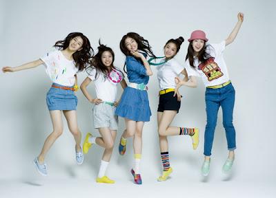 5 Girl Band Korea Paling Hot
