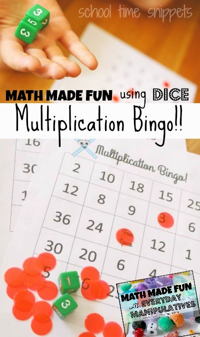 This is a picture of Impeccable Multiplication Bingo Printable