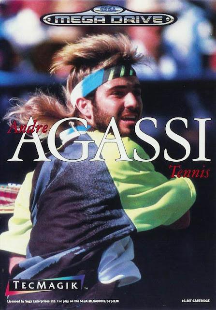 Andre Agassi Tennis Mega Drive