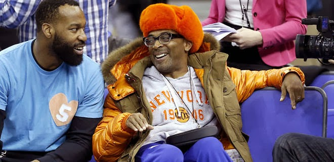 Spike Lee has courtside season tickets