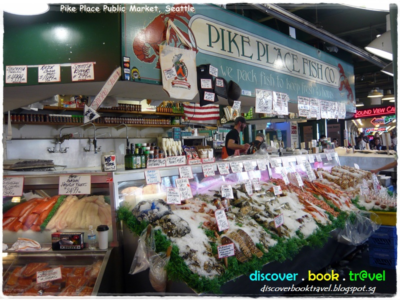 Pike place public market seattle discover book travel for Pike place fish market video