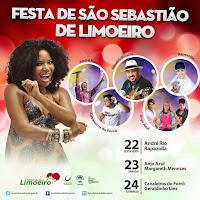 Próximos shows Festa de São Sebastião de Limoeiro