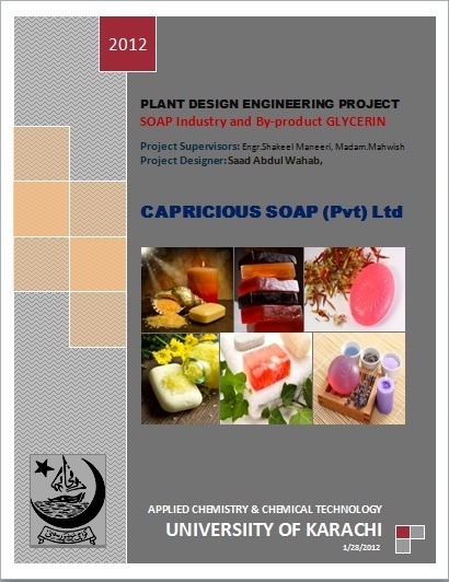 soap industry glycerine by saad abdul wahab