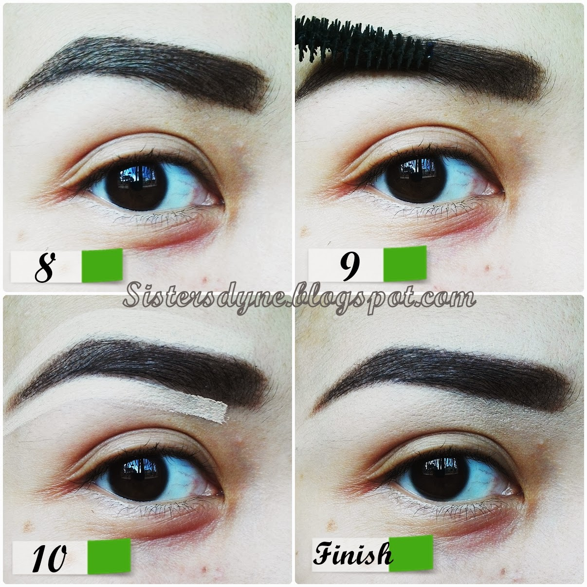 DA Sisters Blog: [Review & Tutorial] Eyebrow Favorit