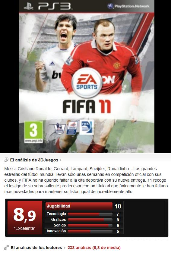 Fifa 11 -PS3-