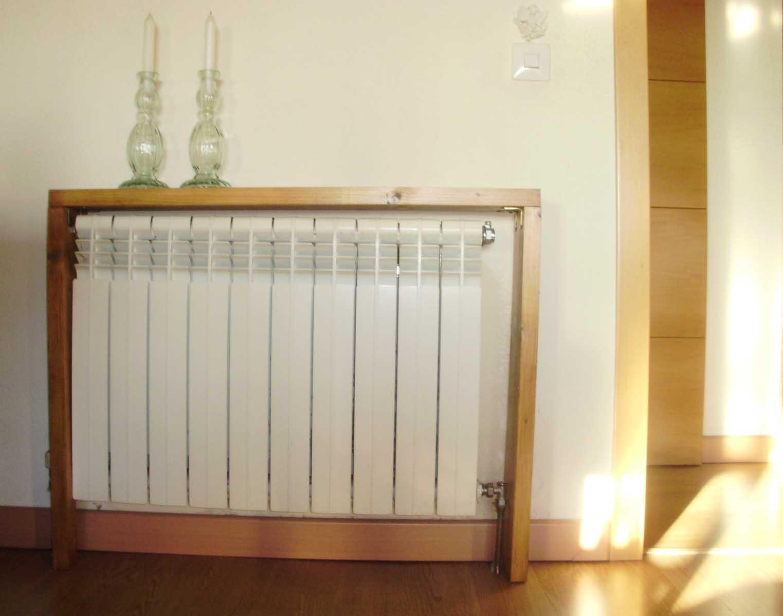 C mo hacer un cubreradiador estanter a - Como hacer estanterias de madera ...