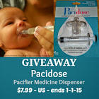 Pacidose Pacifier Medicine Dispenser