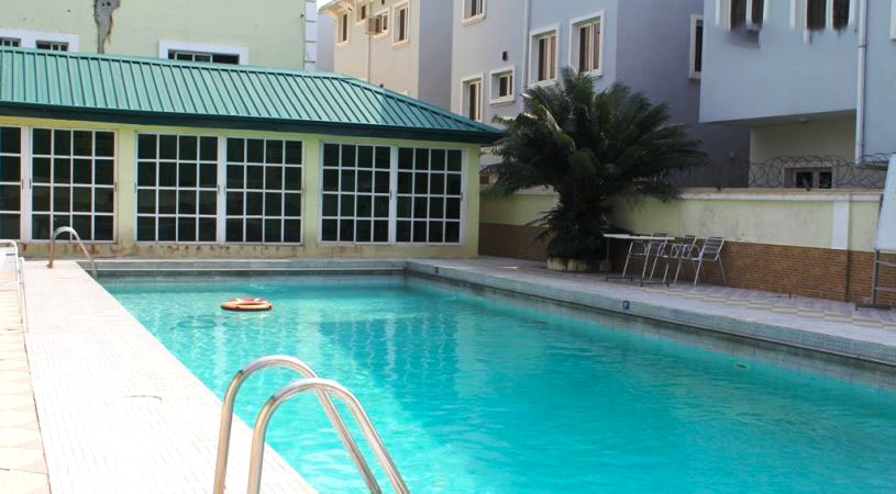 Lekki Heights Hotel swimming pool