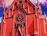 The Loretto Chapel by Tom Mallon