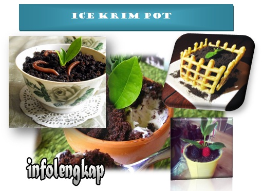 ice krim pot