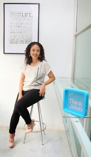 Anantya van Bronckhorst dan Ramya Prajna Sahisnu Founder Think.Web