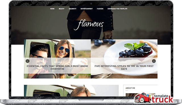 Flamous Blogger Template - Blogger Templates 2018 - Best Free ...
