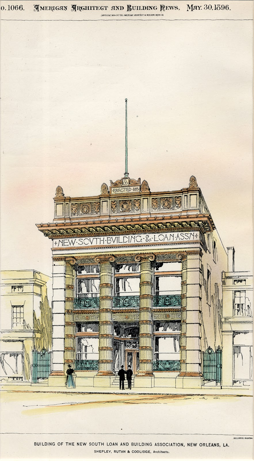 In the 1890s  Henry Hobson Richardson s successor firm Shepley Rutan    Coolidge  Architects  SRC  received two important commissions in New Orleans  Architecture Research  2012. New Orleans Architect Firms. Home Design Ideas