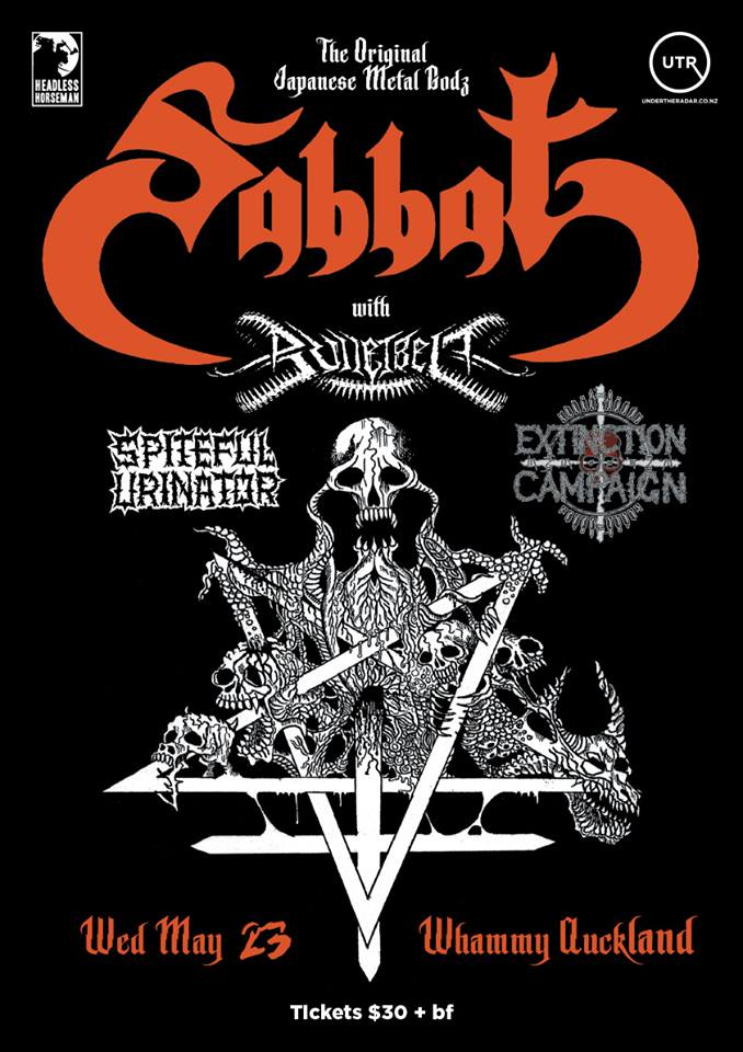 Sabbat NZ Tour: Akl Show