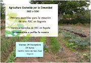 "Charla-reunión ""Agricultura Sostenida por la Comunidad (ASC o CSA)"""