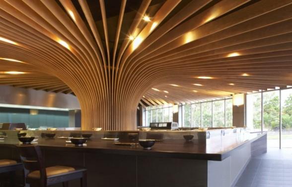 TREE Restaurant by Koichi Takada Architects