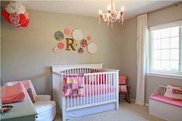 nursery wall color ideas girl