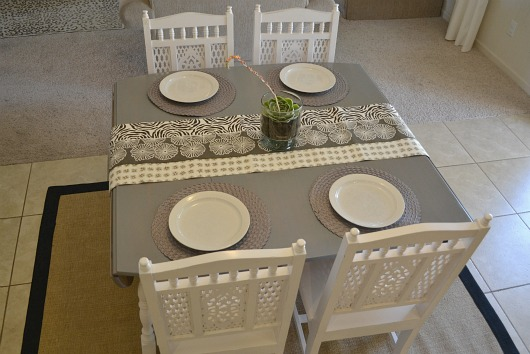 sweetie pie style: dining table before & after: how to refinish a