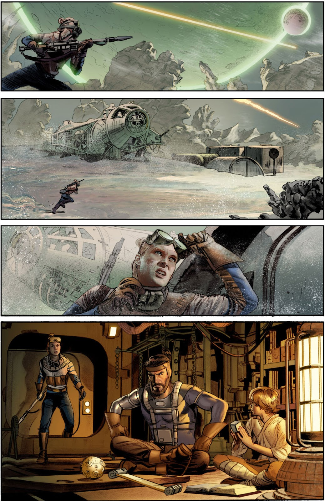 The Star Wars. Dark Horse Comic. George Lucas' Unseen Original Script For 'Star Wars' Adapted Into Comics