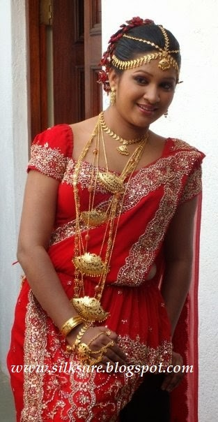 lanka sri wedding saree - photo #17