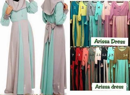 Koleksi Terbaru Arisa Dress Sesuai Untuk BF Mpm Ada Butang Di Bahagian Depan