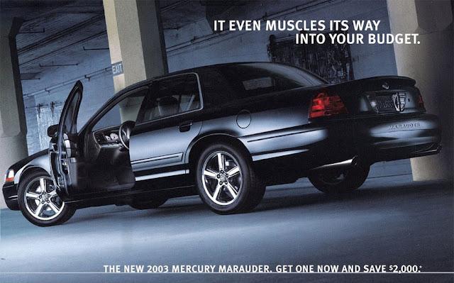 マーキュリー・マローダー | Mercury Marauder 3代目(2003-2004年)