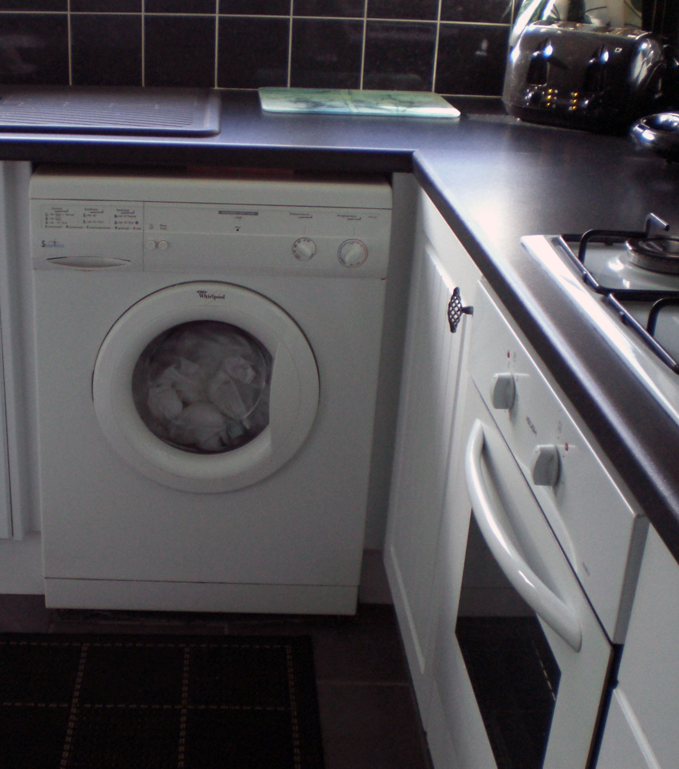 jesus washed me in the washing machine